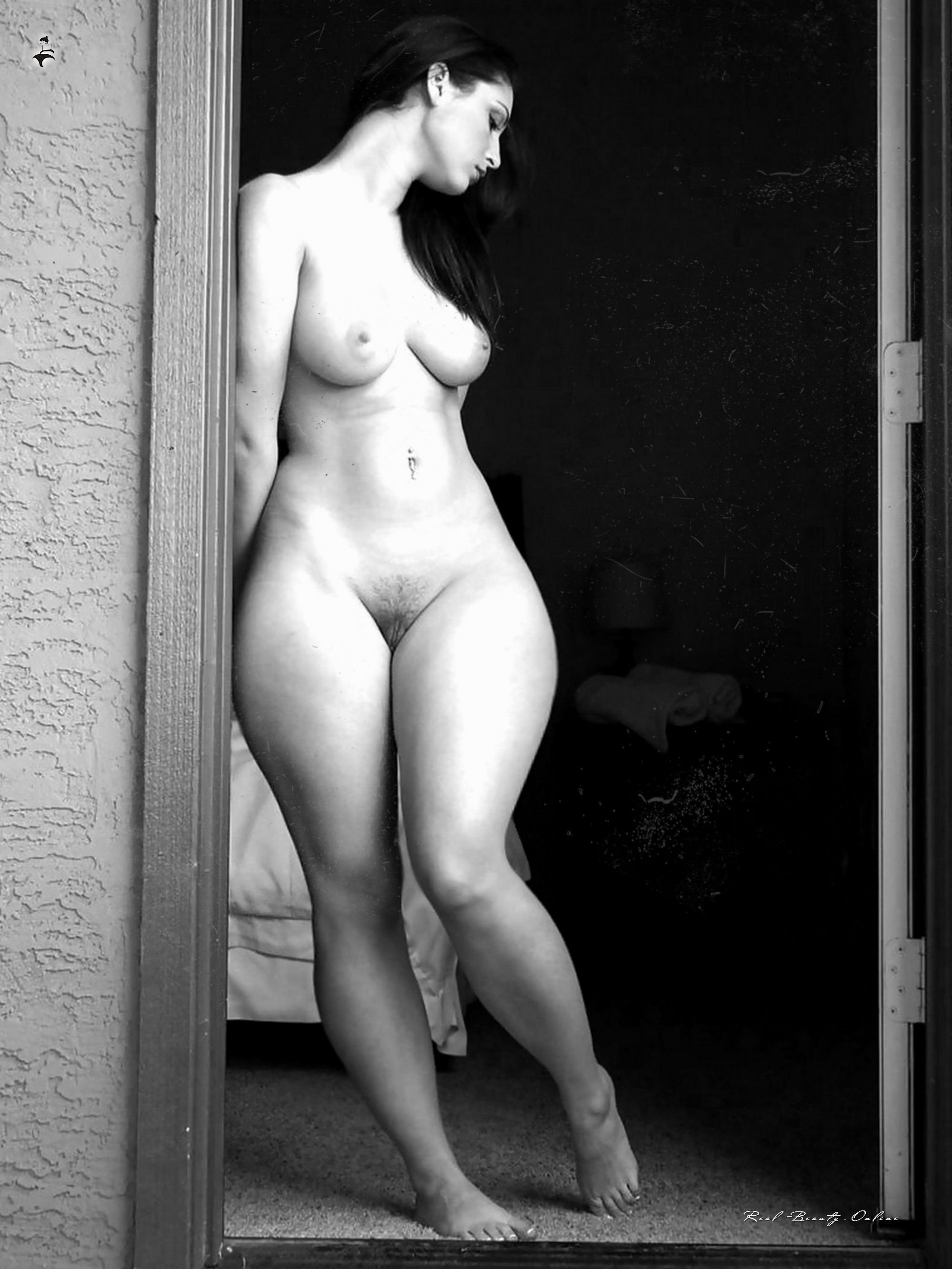 Hairy snatch wide hips